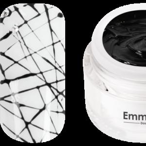 Emmi-Nail Spider Gel Schwarz (Nero) -F288-