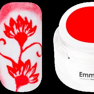 Emmi-Nail Stamping-Gel rot 5ml -F344-