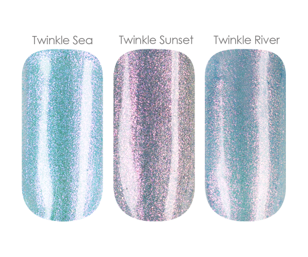 Emmi-Nail Farbgel-Set Twinkle