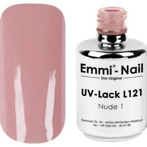 Emmi Shellac / UV-Lack Nude 1 -L121-